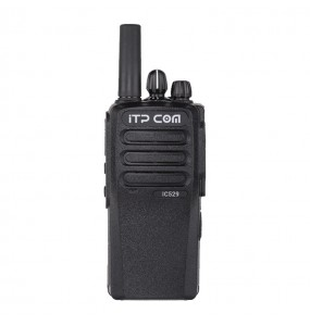 Radio bidirectionnelle PoC IC529 ITP COM, 4G LTE, Linux (Face)