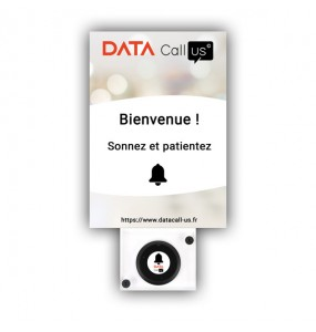 Support Mural 02 pour bouton d'appel Data Call Us, solution d'appel sans fil pour les professionnels