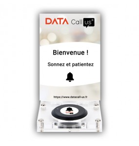 Support Desk 01 pour bouton Data Call US, solution d'appel sans fil pour professionnels