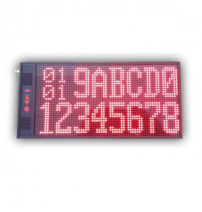 Afficheur LED message texte défilant Data Call Us, solution d'appel sans fil pour professionnels