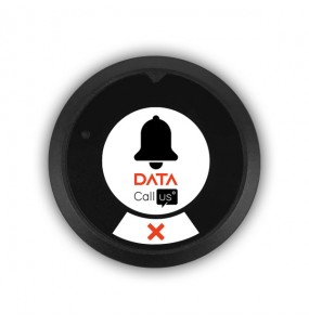 Bouton d'appel DESK 2 touches Data Call Us, solution d'appel sans fil pour les professionnels